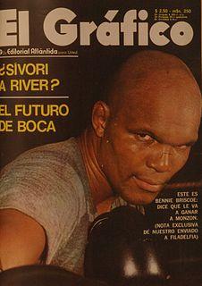 Bennie Briscoe American boxer