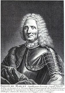 Benoît de Maillet French naturalists, biologist and diplomat
