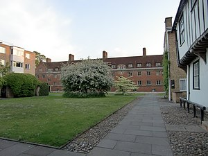 A. C. Benson - Benson Court, Magdalene College, Cambridge