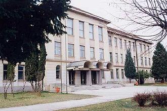 Berane - Image: Berane gimnazija