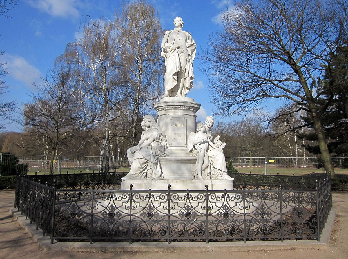 goethe monument berlin wikipedia. Black Bedroom Furniture Sets. Home Design Ideas