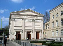 Maxim-Gorki-Theater (1827–1943 Sing-Akademie zu Berlin) (Quelle: Wikimedia)