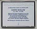 Berliner Gedenktafel Menzelstr 9 (Grune) Edith Berlow.jpg