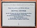 Berliner Gedenktafel Potsdamer Chaussee 87 (Nikol) Düppel Center.jpg