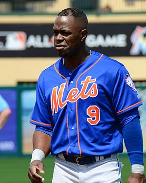 Roger Bernadina - Bernadina with the Mets in 2016
