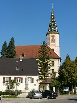St. Michael's church.