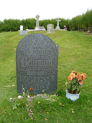 John Betjeman - John Betjeman's grave