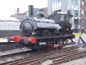 Beyer Peacock tank engine Garratt 100 exhibition.jpg