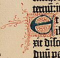 Biblia de Gutenberg, 1454 (Letra E) (21647441250).jpg
