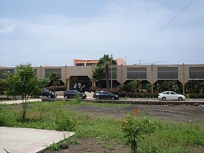 Como chegar a Biblioteca Nacional De Cabo Verde através de transportes públicos - Acerca do local