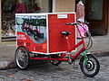 Bicycle in Tallinn old town.JPG