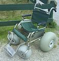Big wheel wheelchair for on the beach.jpg