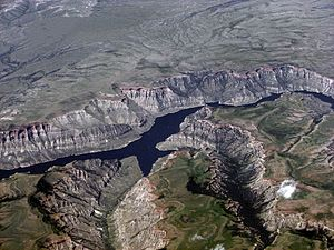 Photo of Bighorn Lake, Wyoming (and Montana), ...