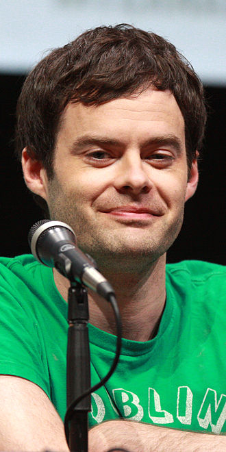 Cloudy with a Chance of Meatballs 2 - Image: Bill Hader, 2013 San Diego Comic Con cropped