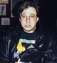 Bill Hicks Bill Hicks at the Laff Stop in Austin, Texas, 1991 (2) cropped.jpg
