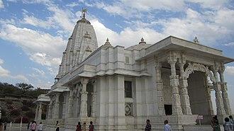 Birla Mandir, Jaipur - Birla Mandir-a distinct view