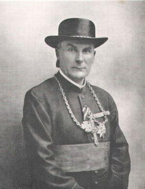 Michael von Faulhaber - Image: Bischof Faulhaber als Feldpropst 1917 JS