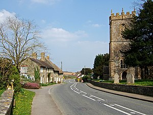 Bishop's Caundle - Image: Bishop's Caundle geograph.org.uk 380051