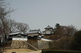 松山城本丸(平成の復元後)