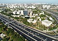 Biu Aerial photograph of Bar-Ilan University (21004322376).jpg