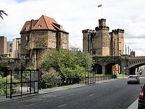 Black Gate and Keep - Newcastle Upon Tyne - geograph.org.uk - 514240.jpg
