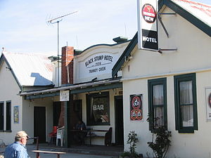 Trunkey Creek, New South Wales - The Black Stump Hotel