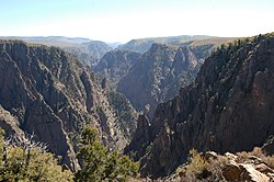 Black canyon gunnison Colorado.jpg