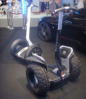 Segway battery-powered electric vehicle