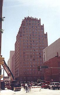 Blackstone Hotel (Fort Worth, Texas) Historic high-rise building in Fort Worth Texas