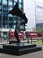 Blackwall bus terminus, Saffron Avenue London E14.jpg
