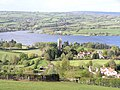 Blagdon Church and lake - geograph.org.uk - 1273584.jpg