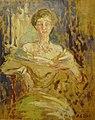 Blanche J.E. - Oil on panel - Etude pour le portrait de la comtesse Bavarowska - 31x39.5cm.jpg