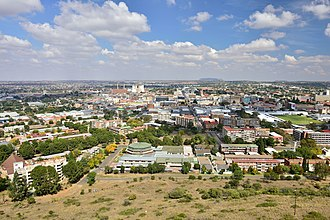 Bloemfontein - View of Bloemfontein
