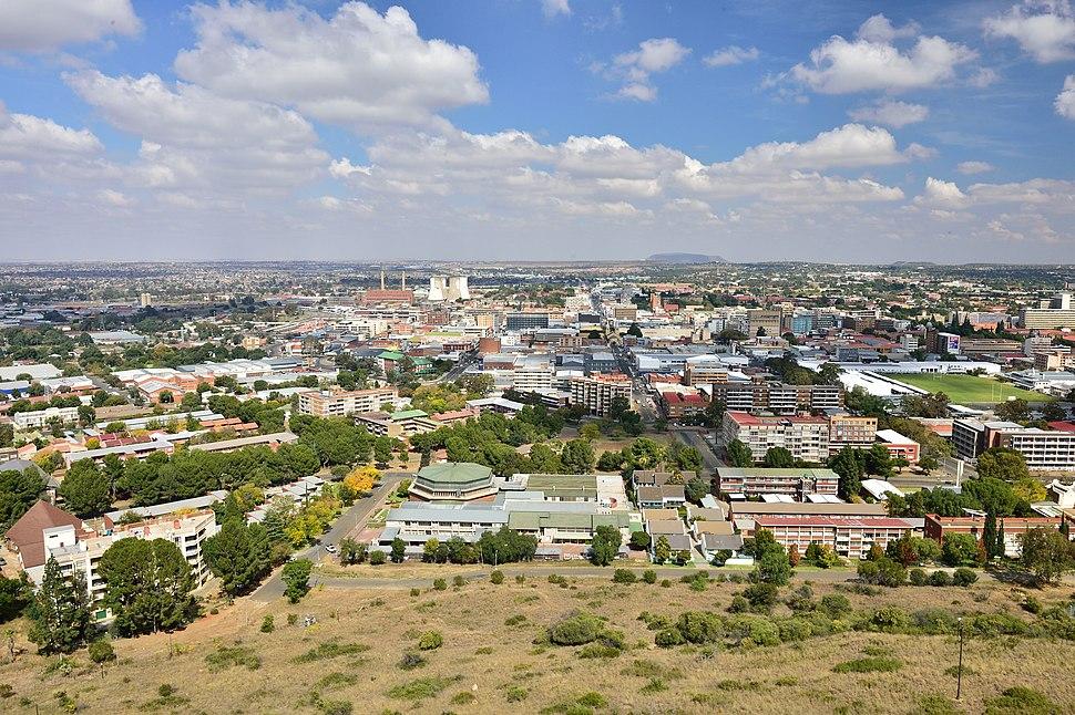 View of Bloemfontein