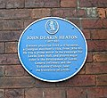 Blue Plaque on wall of Claremont - Clarendon Road - geograph.org.uk - 410732.jpg