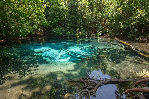 Blue Pool, Sa Morakot, Krabi 01
