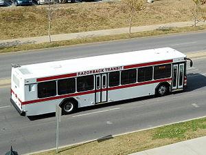 Razorback Transit - A Razorback Transit bus in service, November 2012