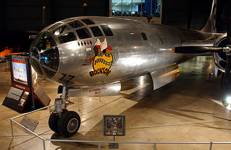 Boeing B-29 Superfortress Bockscar USAF.jpg