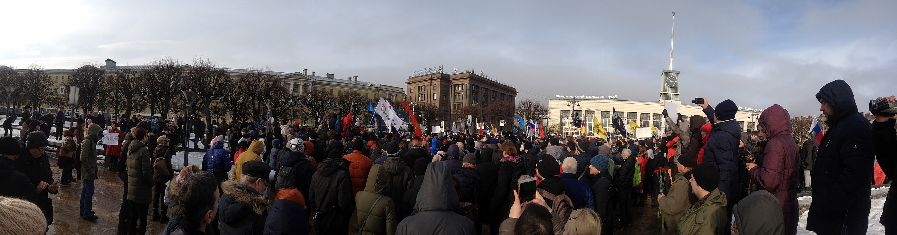 Boris Nemtsov memorial meeting in St. Petersburg 2019-02-24.IMG 1080.jpg