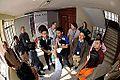 Bottle Vortex Demonstration - Indo-Finnish-Thai Exhibit Development Workshop - NCSM - Kolkata 2014-11-27 9859.JPG