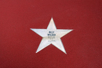 "English: Star of Billy Wilder at the ""Bou..."