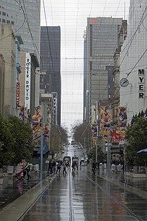 Bourke Street, Melbourne street in Melbourne