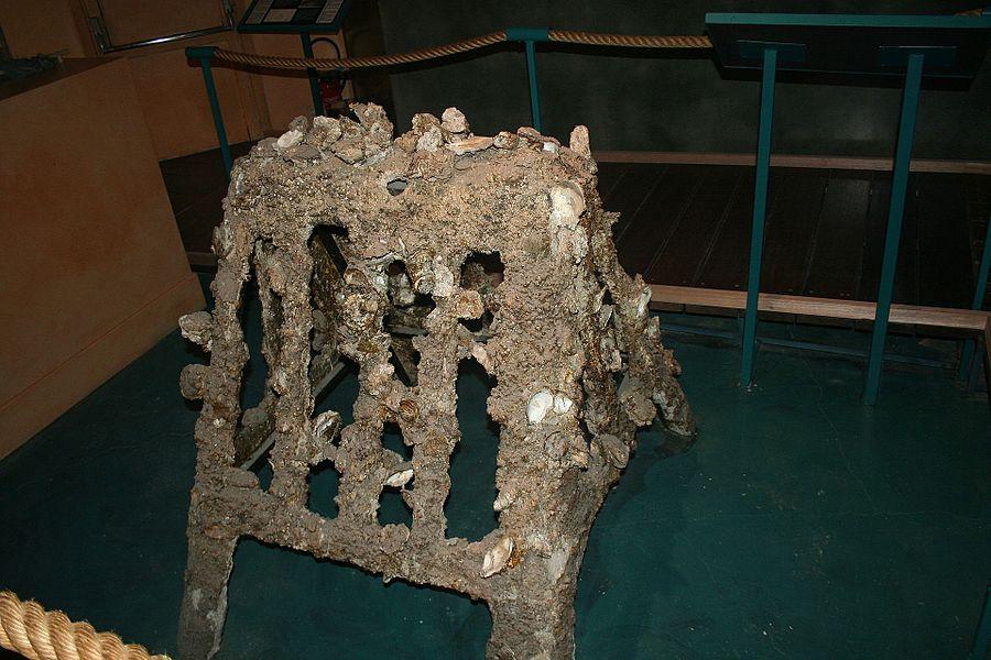 Bouzigues (Hérault) - musée de l'Étang de Thau - élevage des huitres (technique disparue, inventée par Louis Tudesq)