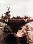 Bow view of USS Independence (CVA-62) c1968.jpg