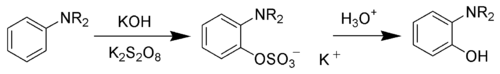 The Boyland-Sims oxidation