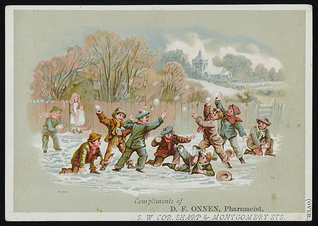 640px-Boys_having_a_snowball_fight_Wellcome_L0044102.jpg (640×456)