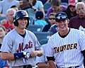 Brandon Nimmo and Peter O'Brien on July 26, 2014.jpg