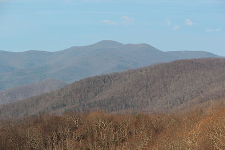 Brasstown Bald Brasstown Bald viewed from the Russell-Brasstown Scenic Byway.JPG