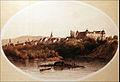 Brežice Castle 1860.jpg