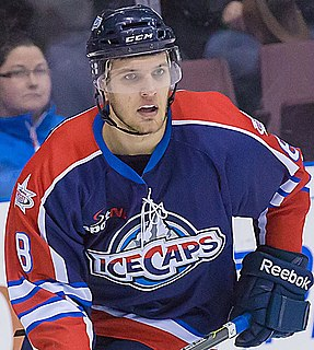 Brenden Kichton Canadian ice hockey player